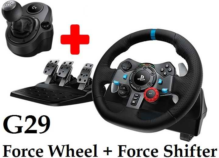 3b55389aea1 Logitech G29 Driving Force Racing Wheel and Force Shifter Combo Deal